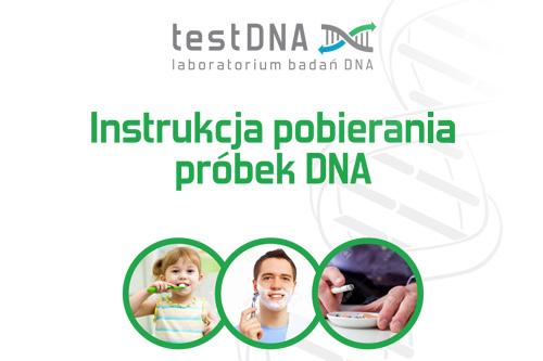 pobranie wymazu do testu na ojcostwo, jak pobrać próbki do testu dna