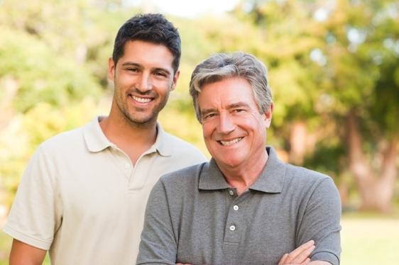 Test ojcostwa u dwóch spokrewnionych mężczyzn
