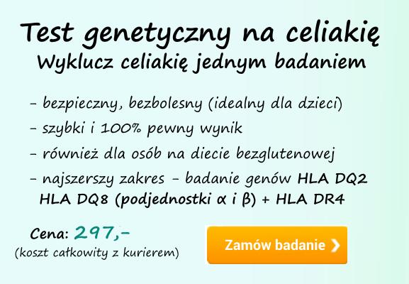 test genetyczny na celiakię