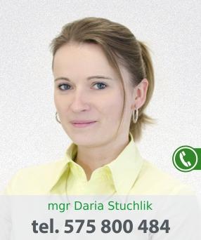 mgr Daria Stuchlik