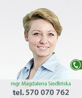 mgr Magdalena Siedlińska
