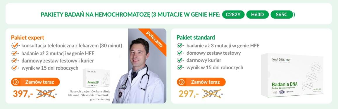 hemochromatoza cena
