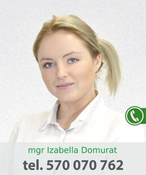 mgr Izabella Domurat