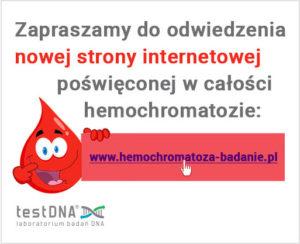 nowa strona o hemochromatozie