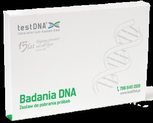 zestaw do pobrania próbek DNA