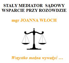 mediator sadowy Joanna Wloch