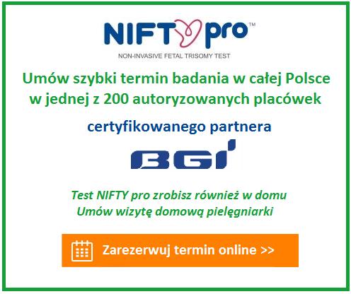 umów termin testu NIFTY pro