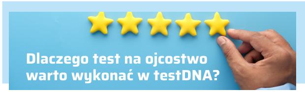 Test na ojcostwo w testDNA
